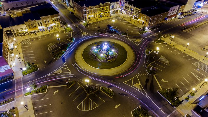 High View of Square